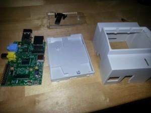 Boîtier rail DIN pour le Raspberry Pi