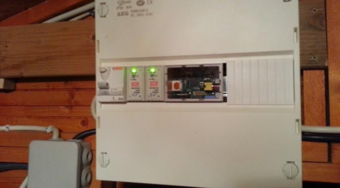 Raspberry Pi dans un tableau électrique
