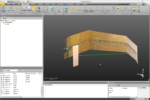 Countour du plan de travail dans la 3D