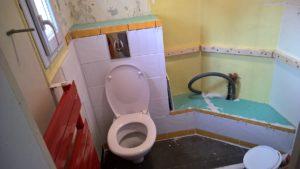 WC installé