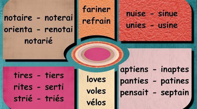 Anagrammes